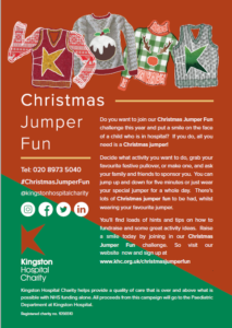 Image of A5 christmas flyer